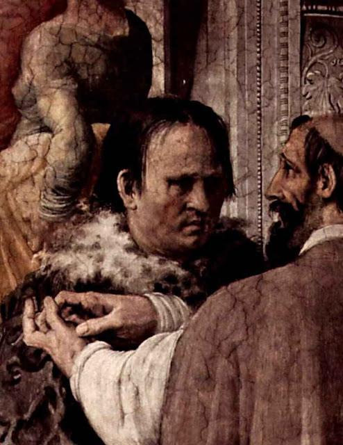 Lutero en Roma, Francesco de' Rossi (1510-1563), Palazzo Farnese, Roma