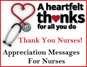 Appreciation messages and letters appreciation messages for Nurses week flyer templates
