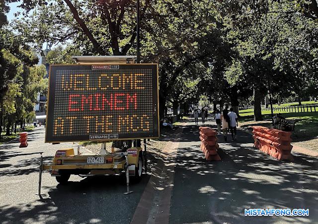 REVIEW] Eminem Rapture Tour 2019 Melbourne Australia - Mistah Fong