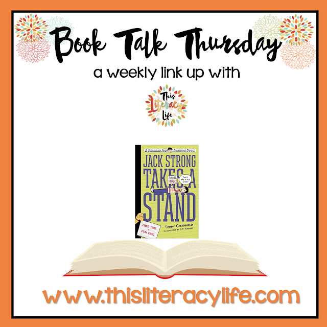 Jack Strong Takes a Stand is a perfect book to help students better understand author's purpose. Over-scheduling kids can harm them sometimes, and Jack reminds us all of how much they still need to be a kid.