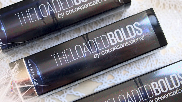 Maybelline The Loaded Bolds lipsticks has soft buttery thick texture, moisturizing, high pigmentation and long lasting. Bold colors for bold personality