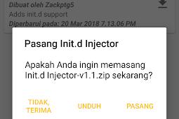 Cara Pasang Init.d di Semua Android