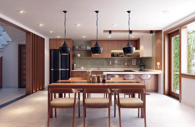 05. Interior Rumah Minimalis dengan Kayu