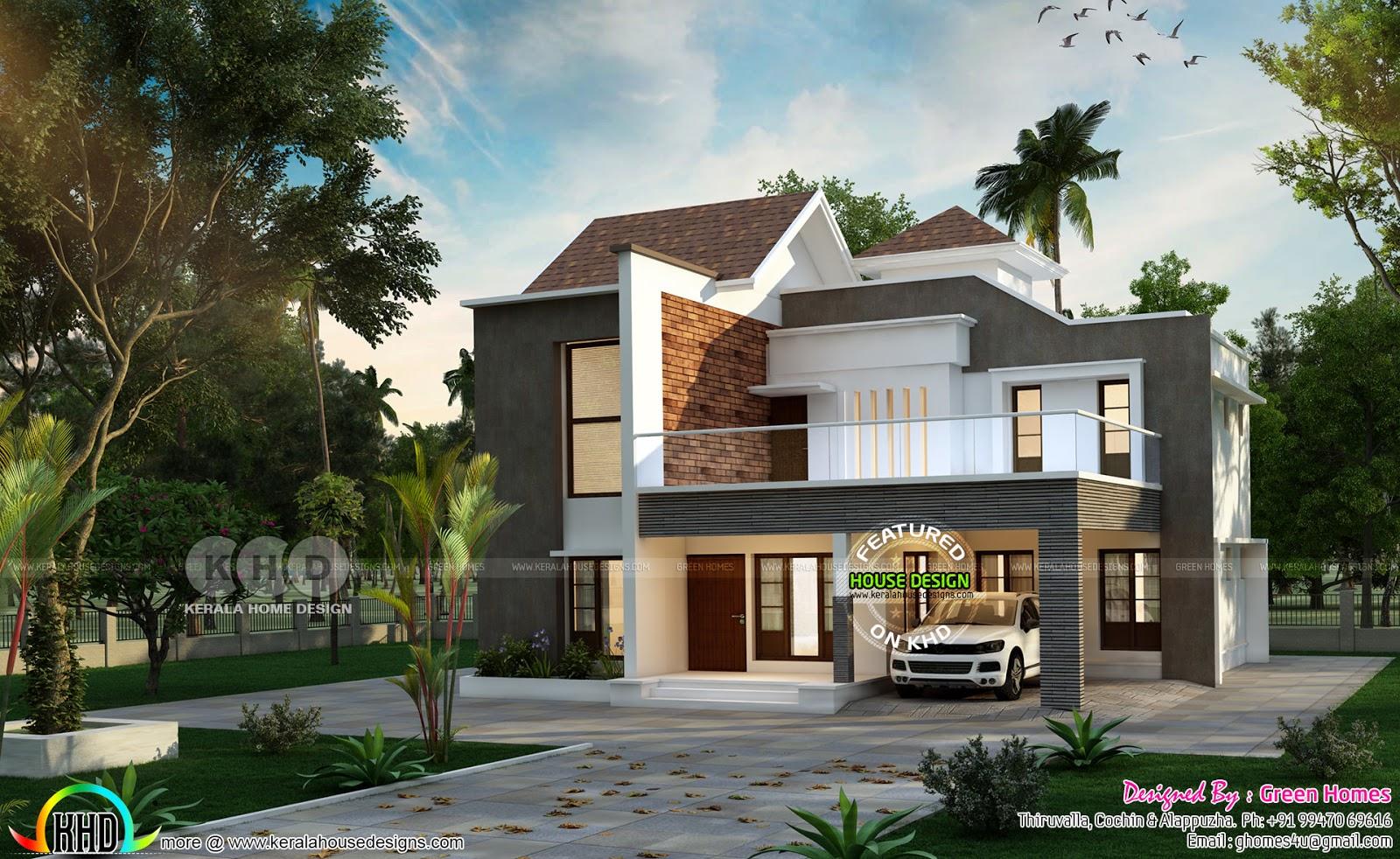 Year 2019 house design starts here | Kerala home design ...