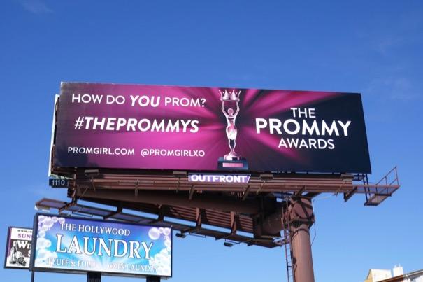 Prommy Awards Prom Girl billboard