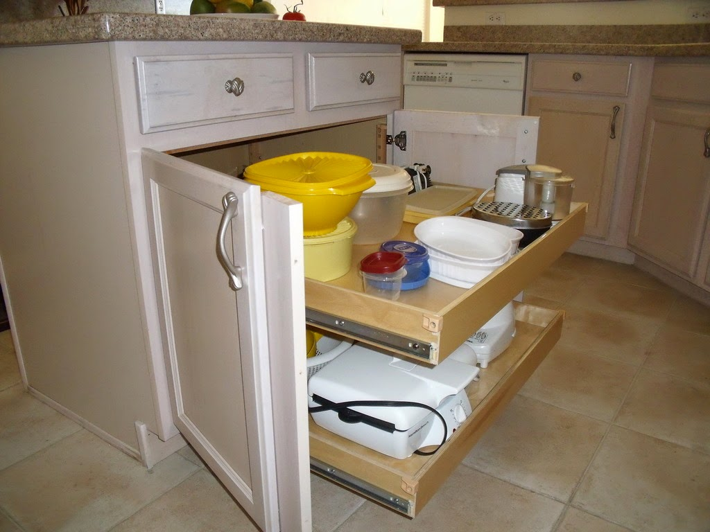 Pullout Cabinet Kitchen Unfishined Base
