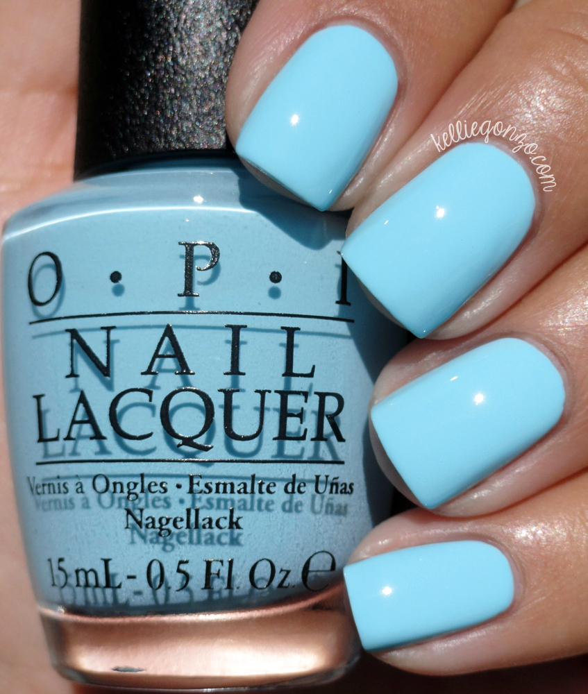 OPI Sailing & Nailing