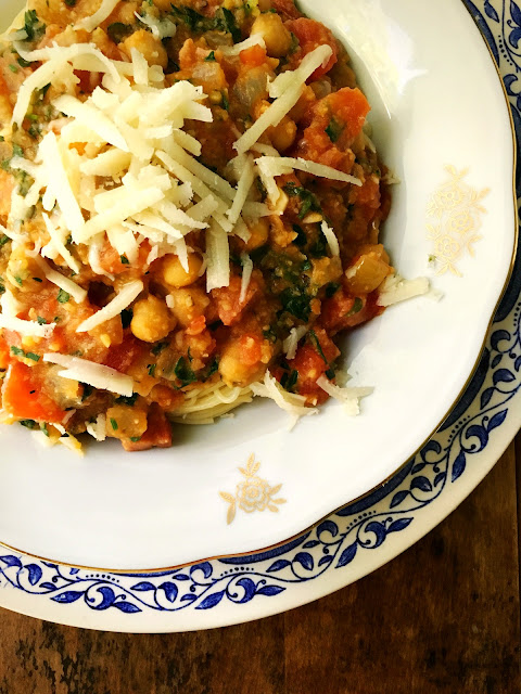 ... Pulses: Carrot Lentil Muffins & Spaghetti with Chickpea Tomato Sauce