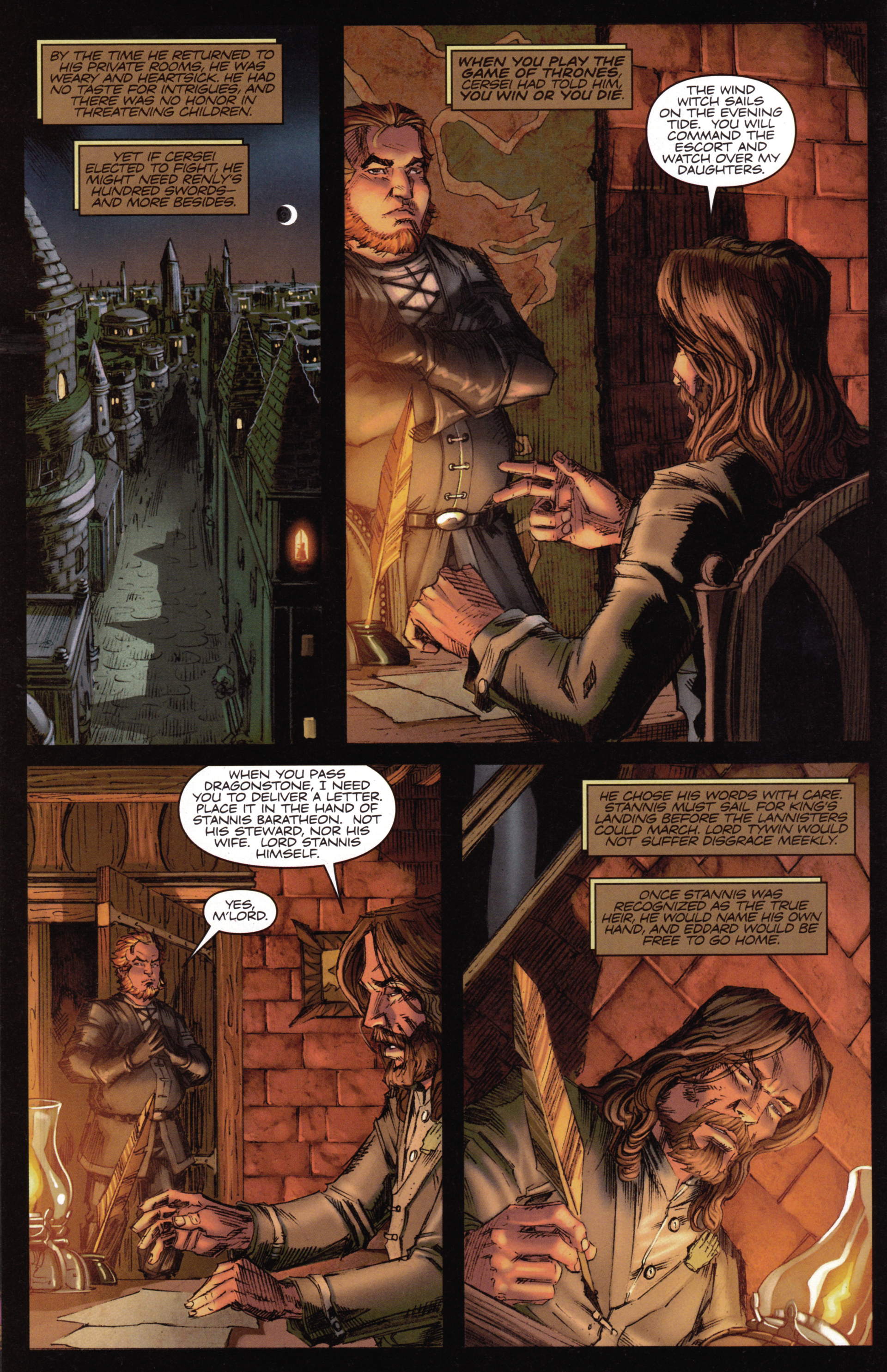 Read online A Game Of Thrones comic -  Issue #15 - 18