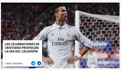 hat-trick Cristiano Ronaldo derbi Atlético