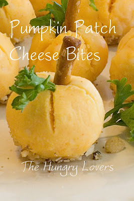 Pumpkin Patch Cheese Bites