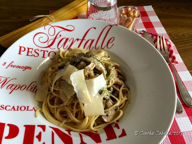 espaguetis-shiitake-plato