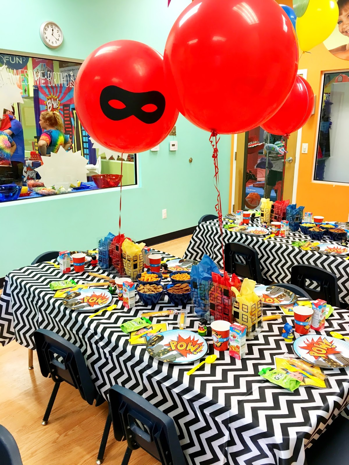 Superhero First Birthday Party Ideas Popular Party
