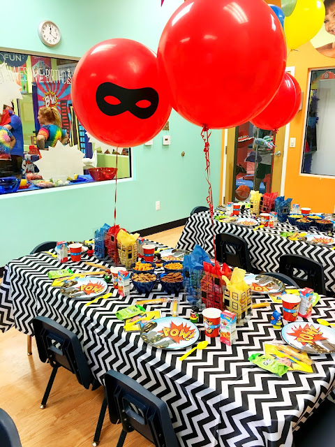Superheros- Kids birthday party ideas- Superhero First Birthday Party Ideas by popular South Florida party blogger Celebration Stylist