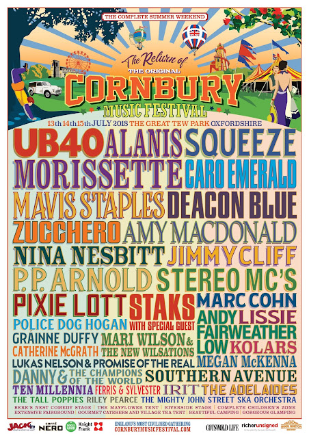 The Cornbury Music Festival 2018 lineup