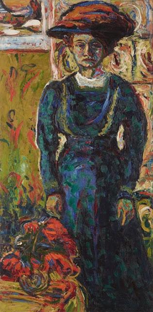 Ernst Ludwig Kirchner - Портрет Эмми Фриш