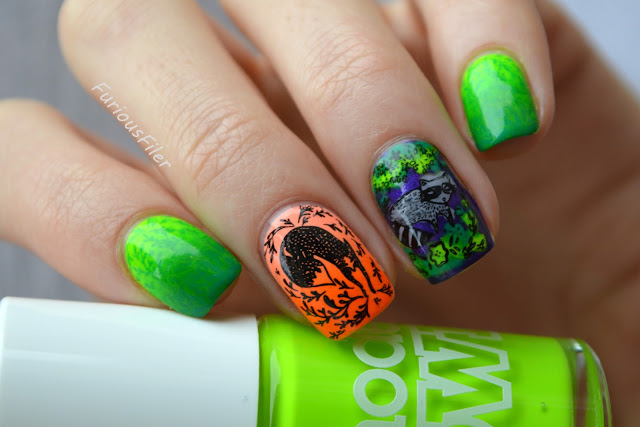 Halloween neon reciprocal gradient decals MoYou