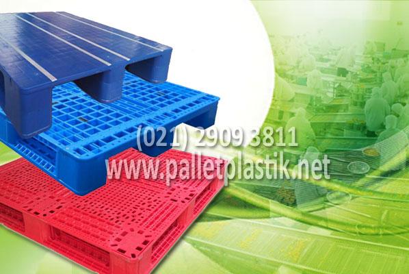 pallet plastik untuk industri makanan minuman