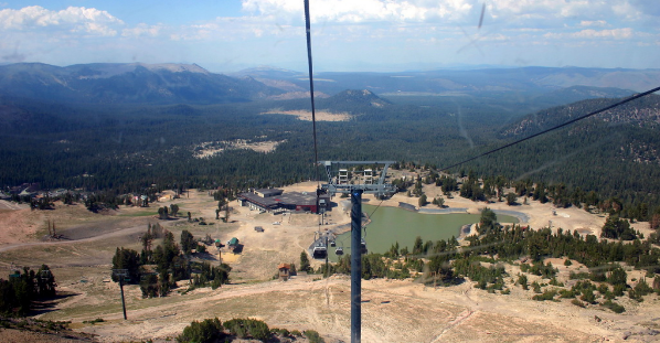 Cable Glands serve visitors throughout the summer in the Mammoth Lakes, California