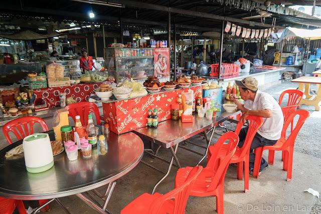 Marché Psar Nath de Battambang - Cambodge