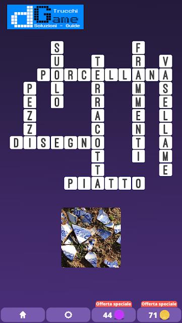 Soluzioni One Clue Crossword livello 9 schemi 15 (Cruciverba illustrato)  | Parole e foto