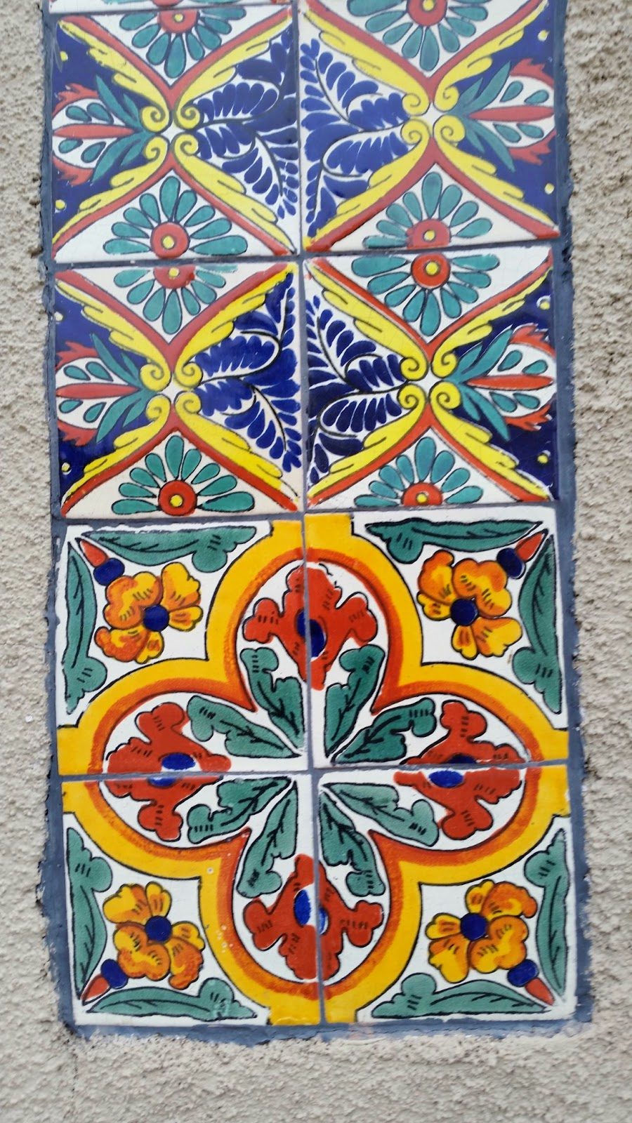 Decorative Tiles in this historic installation match a pattern Avente sells today.