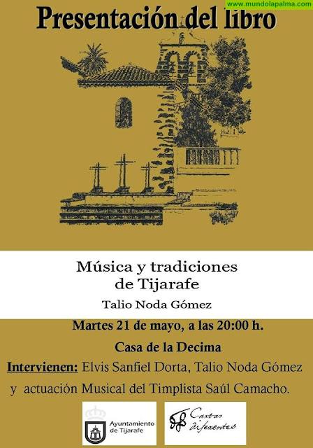 """Presentación del Libro """"Música y tradiciones de Tijarafe"""" de Talio Noda Gómez"""