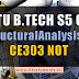 Note for CE303 Structural Analysis- II | S5 Civil