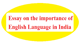 the importance of English language in India