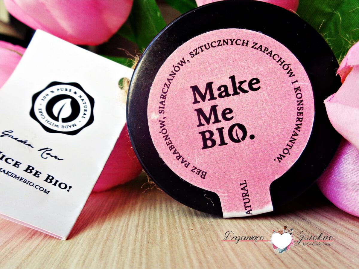 Make Me Bio - Różany krem nawilżający dla skóry suchej i wrażliwej - Garden Roses | Jaki ma skład? Jak działa?