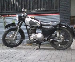 Dijual Motor Tua AJS Tahun 56 Siap Pake Harian