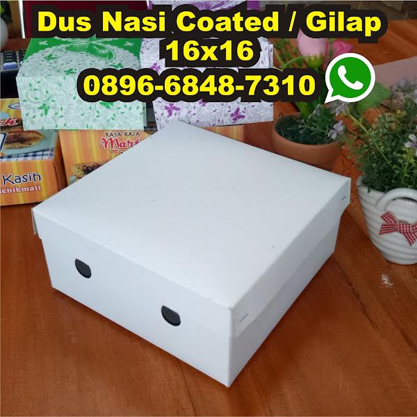 dos nasi box nasi kotak gilap putih murah 16