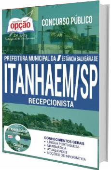 Apostila Prefeitura de Itanhaém 2017 - Recepcionista