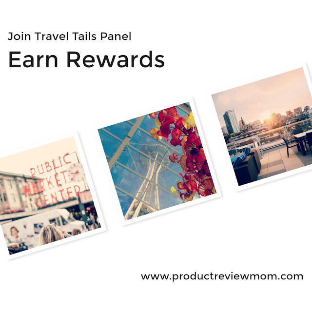 Join Travel Tails Panel and Earn Rewards  via  www.productreviewmom.com