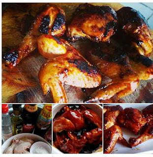 Resepi Ayam Bakar BBQ Mudah