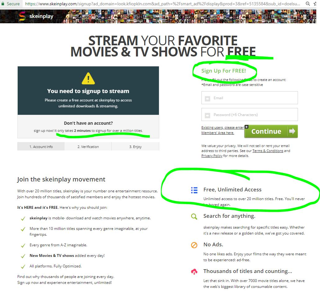 CyberCrime & Doing Time: Affiliate Movie Streaming Scam Service