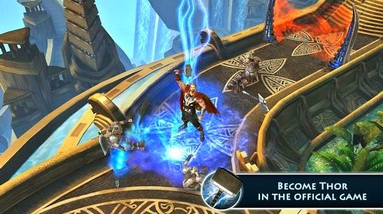 Gameplay Games Thor: The Dark World - The Official Game