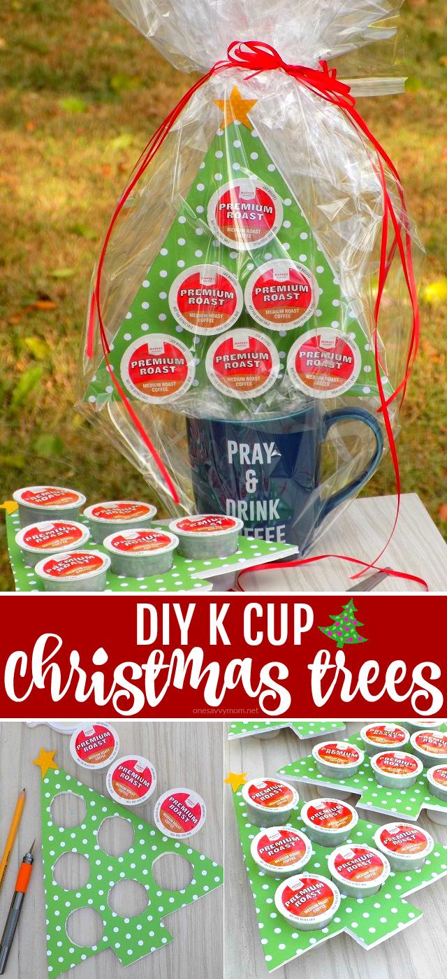One Savvy Mom ™   NYC Area Mom Blog: DIY K Cup Christmas Trees - A ...