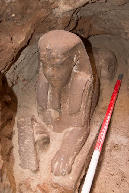 Ptolemaic statue of sphinx discovered in Egypt