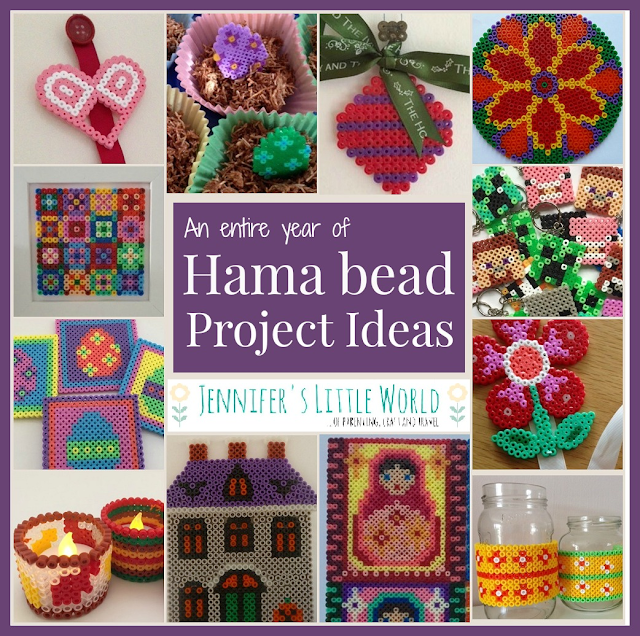 A year of Hama bead craft project ideas