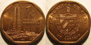 1 cent - Cuban Convertible Peso - CUC - 2003