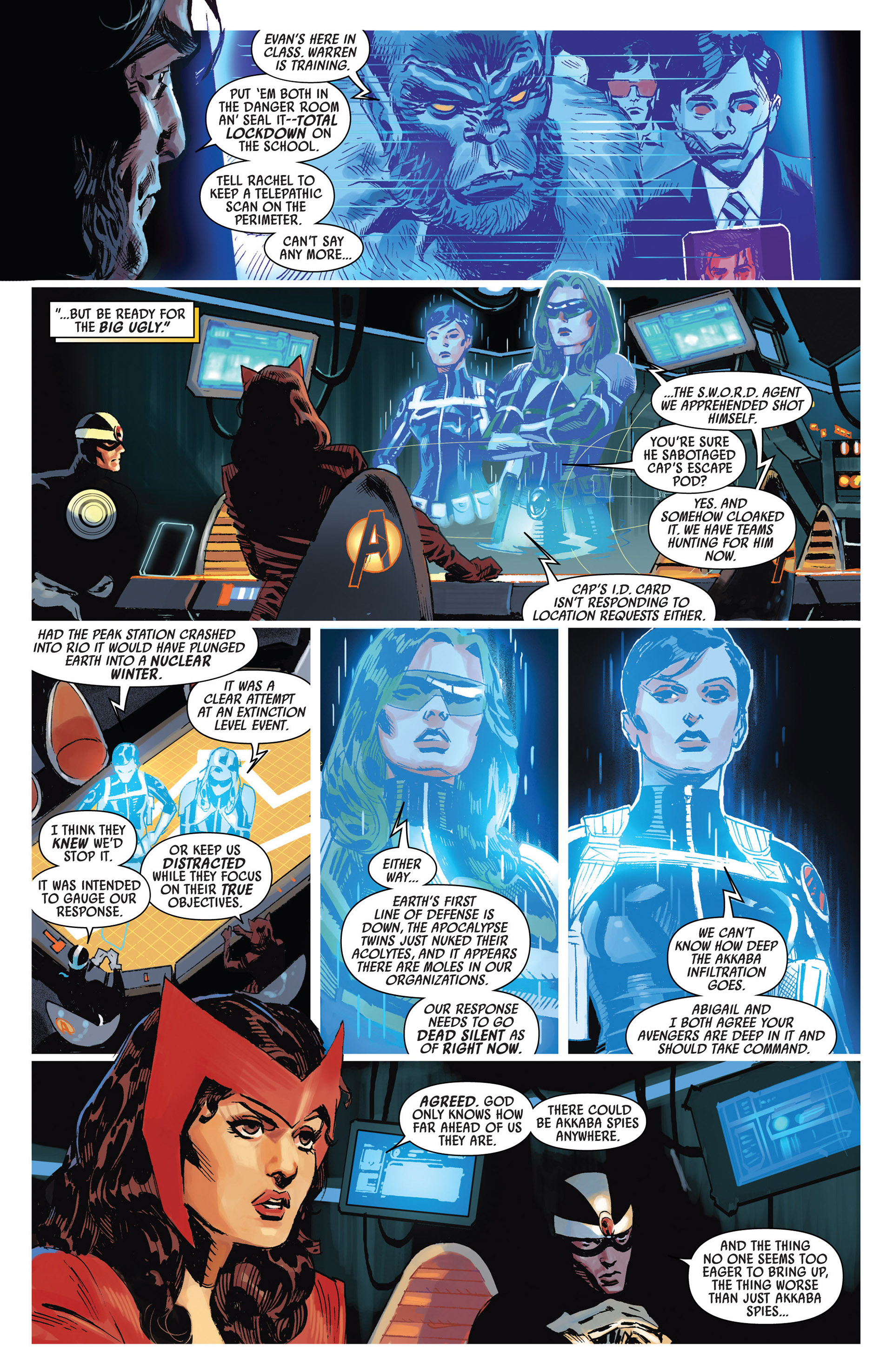Read online Uncanny Avengers (2012) comic -  Issue #9 - 5