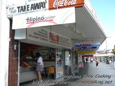 Pinoy Takeaways Food Shops