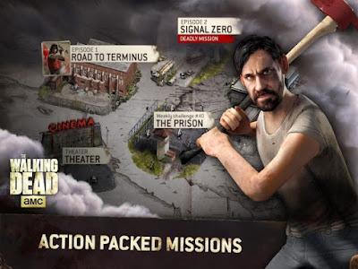 The Walking Dead No Man's Land Apk v1.8.0.19 Mod