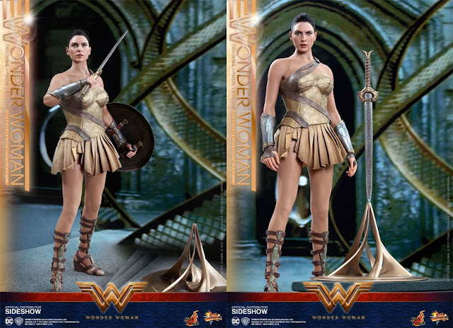 jual Hot Toys Wonder Woman Training Armor