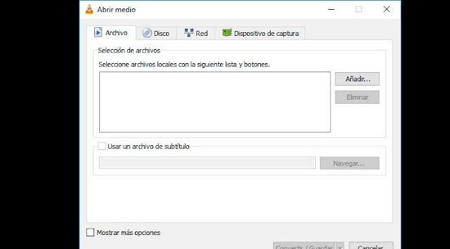 Grabar pantalla de tu PC con VLC