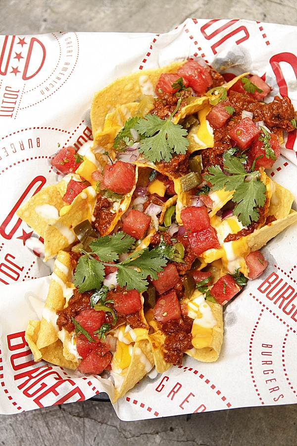 The Burger Joint Loaded Nachos