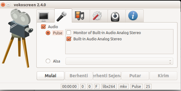 vokoscreen settings audio