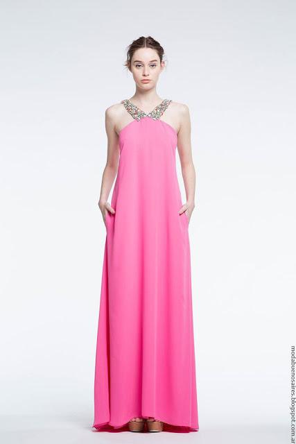Moda verano 2017 Natalia Antolin. Moda vestidos de fiesta moda 2017.