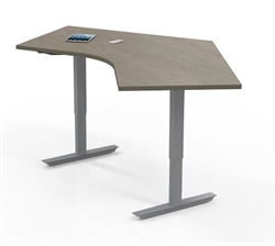 Collaborative Sit To Stand Cluster Desk